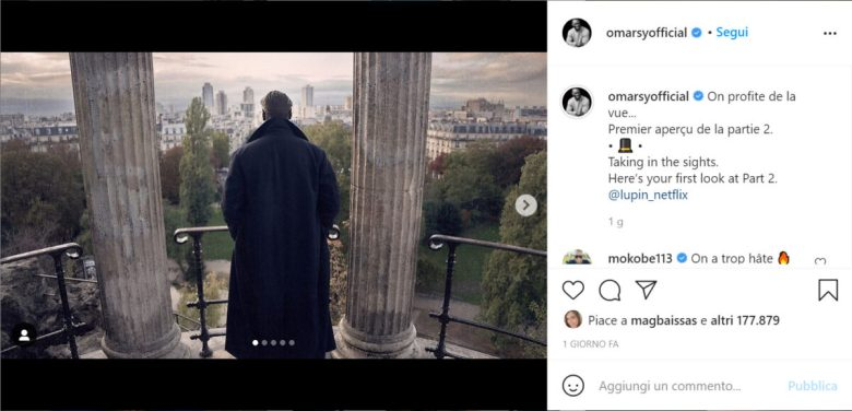 Instagram Omar Sy