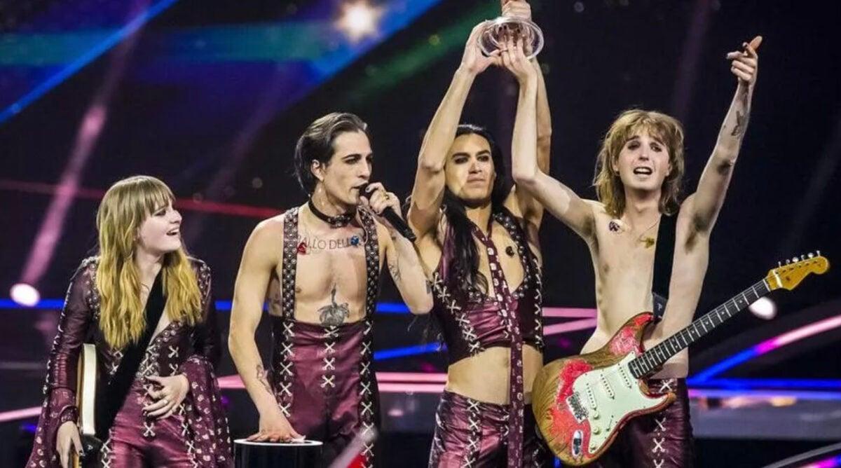maneskin eurovision