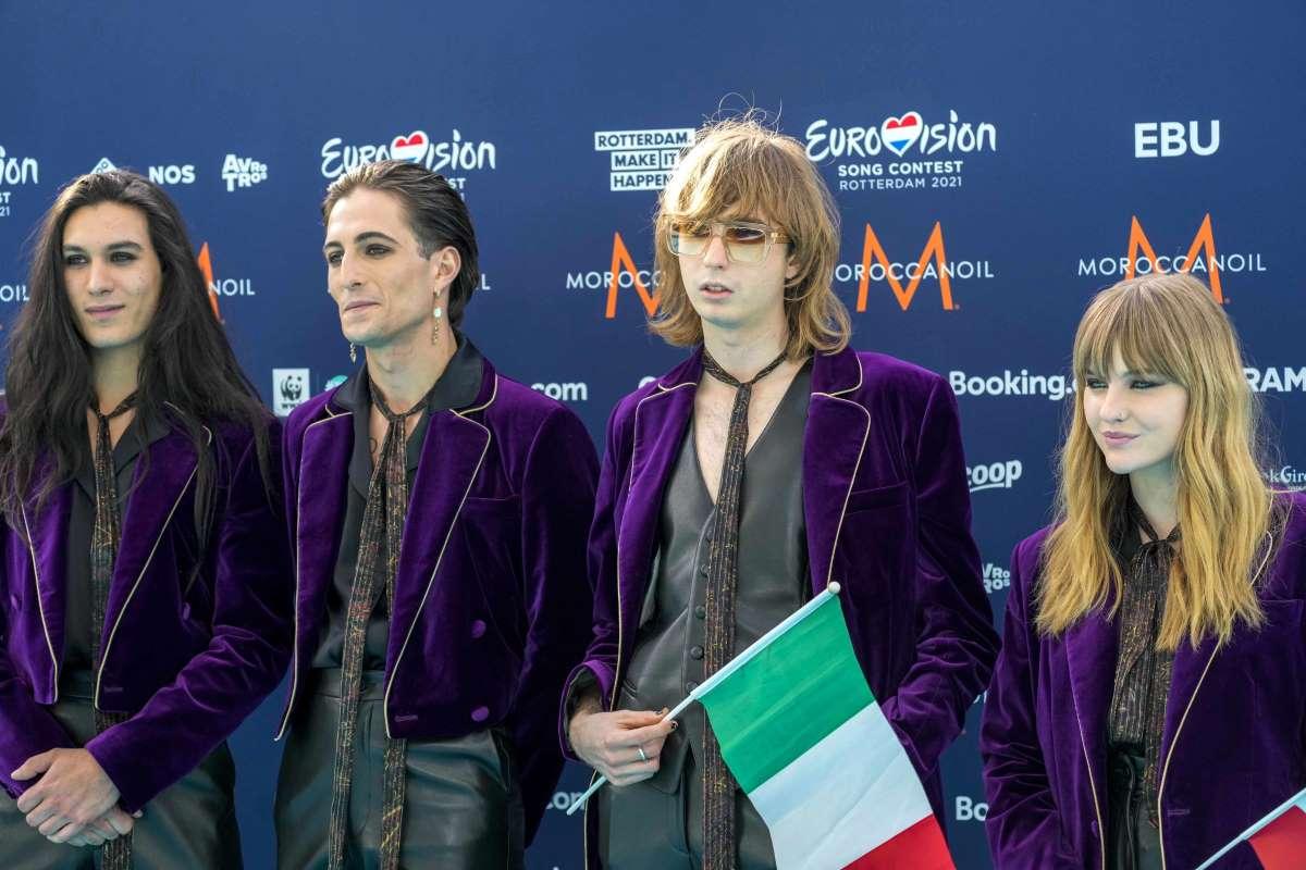 Eurovision Song Contest: Maneskin vincono il premio miglior testo