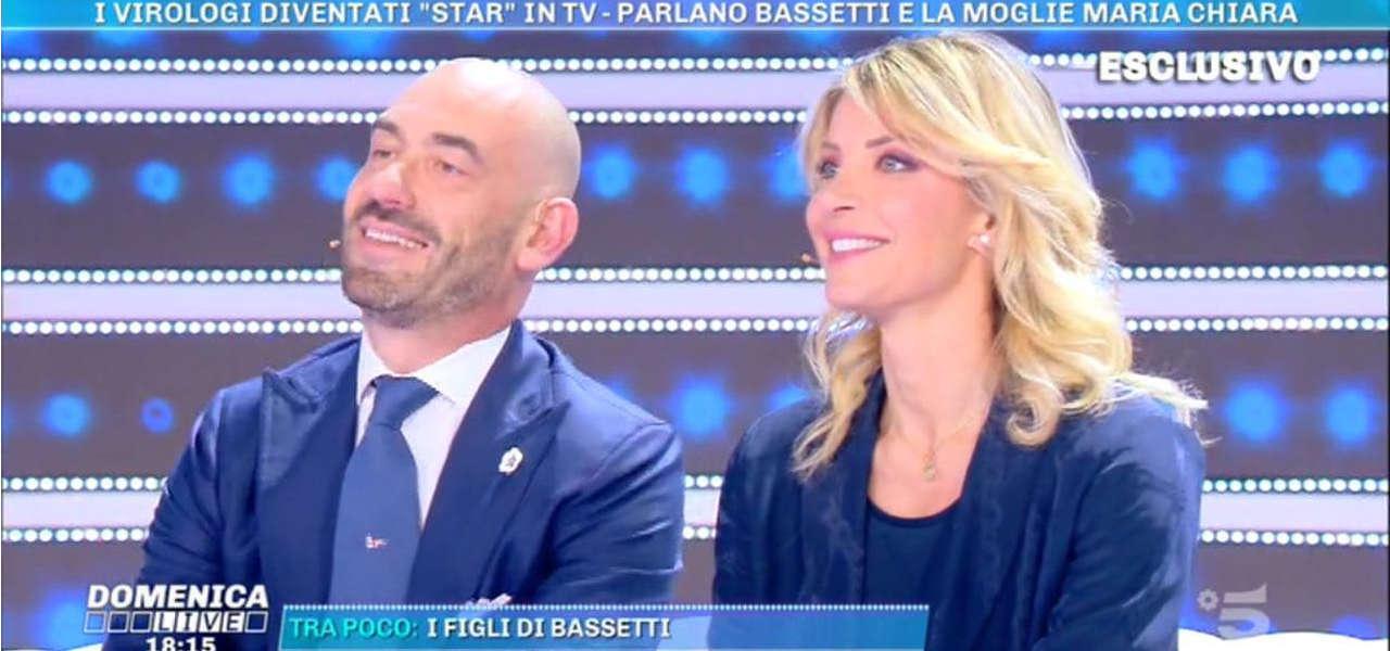 matteo-bassetti-moglie-domenica-live