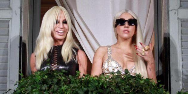 Versace e Lady Gaga : nuova collaborazione per il pride