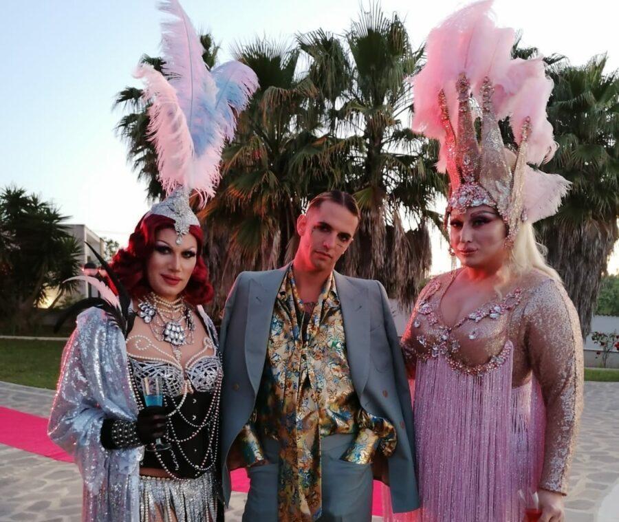 """14:00 Le drag queen presenti nel video di """"Mille"""" scrivono a Fedez: """"Due giorni di lavoro da incubo"""""""