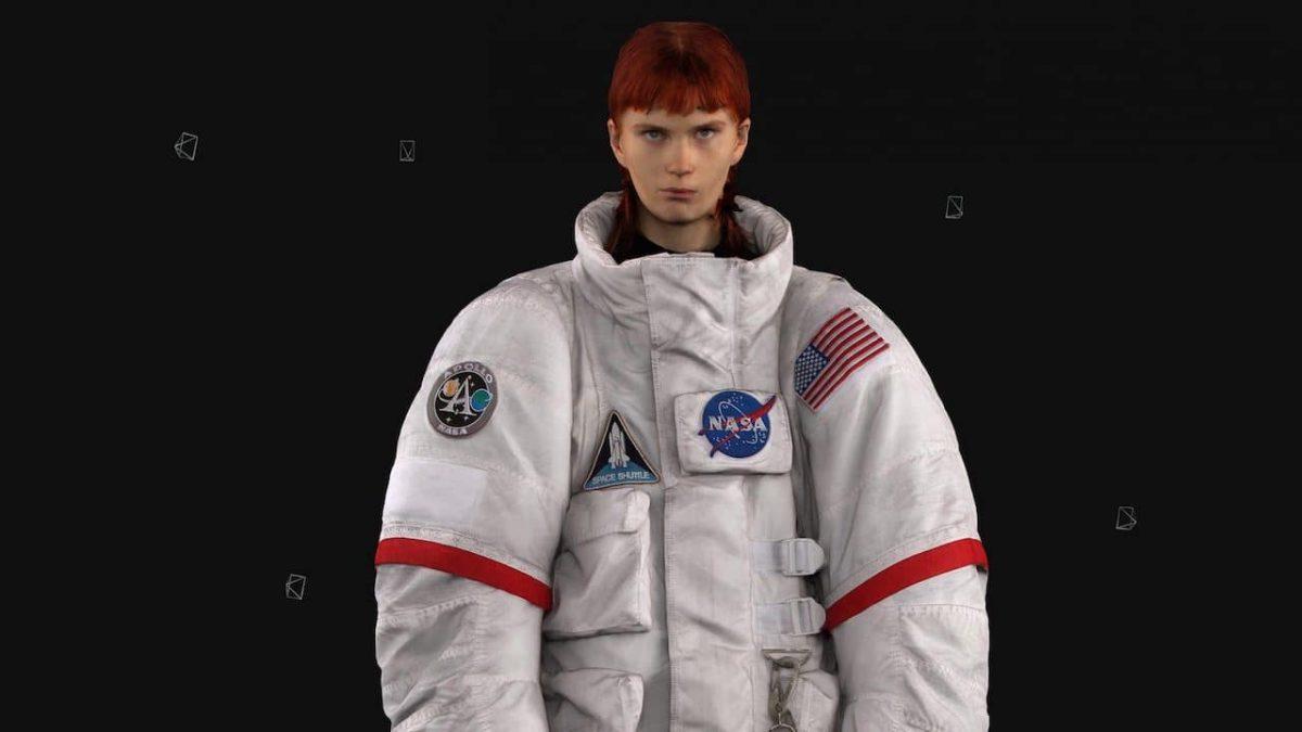 Balenciaga: la collaborazione con NASA