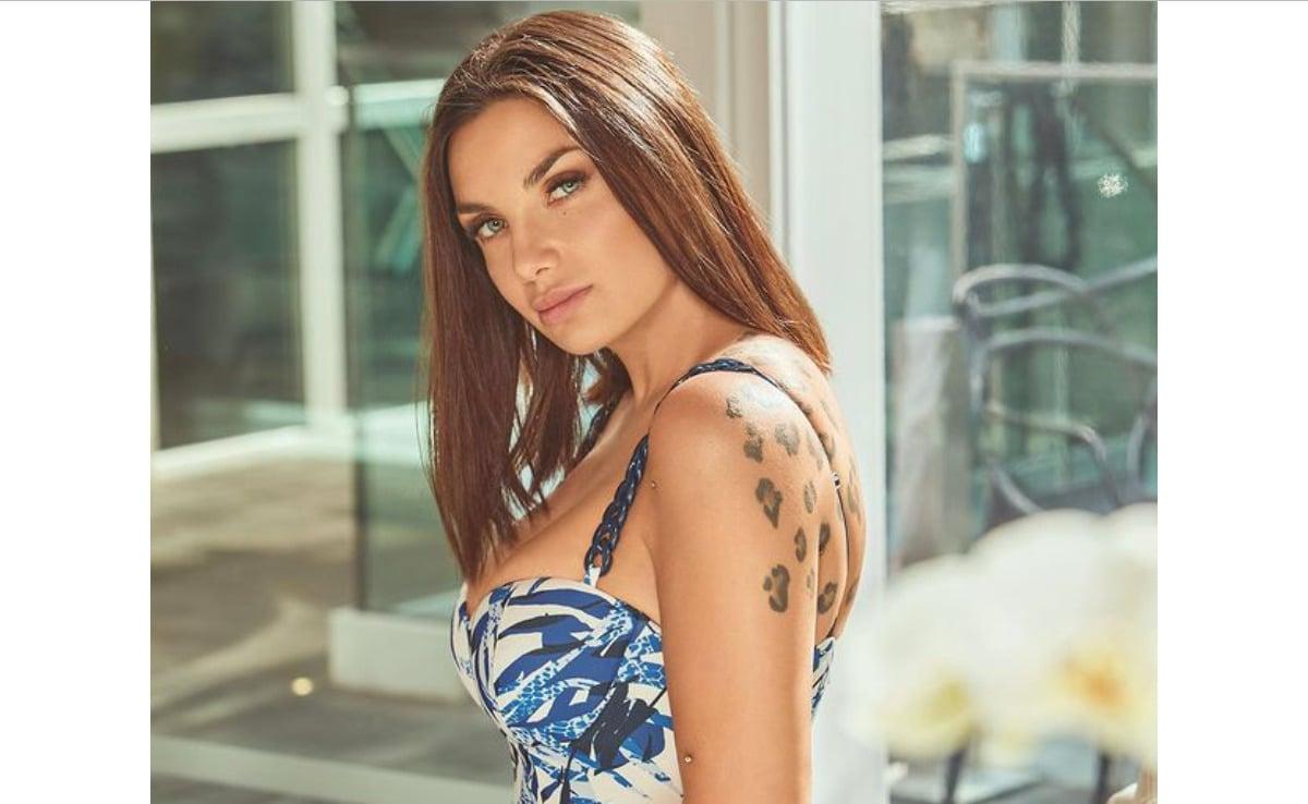 Elettra Lamborghini: il curioso tatuaggio di un fan