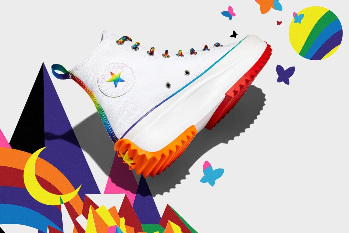 Converse: la linea dedicata al mese del Pride