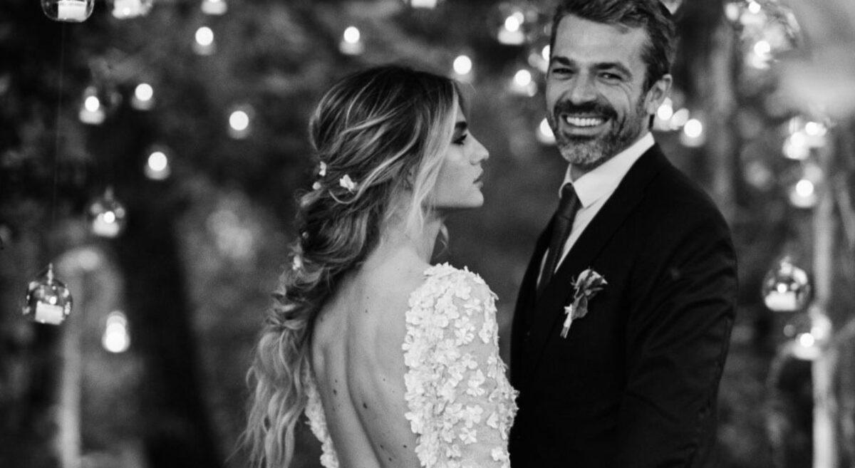 Giorgio Armani veste Luca Argentero per le nozze