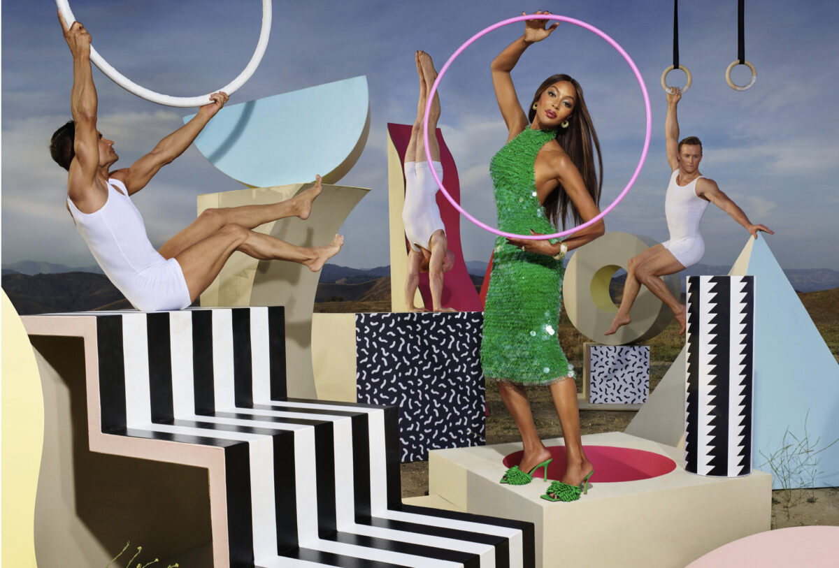 Bottega Veneta: testimonial Naomi Campbell e Travis Scott