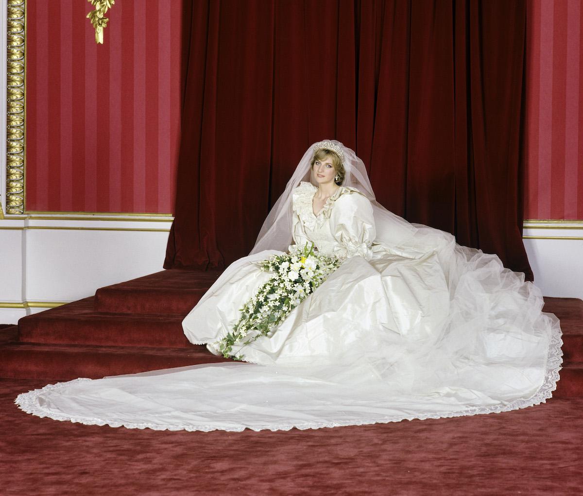 Princess Of Wales Wedding Sitting