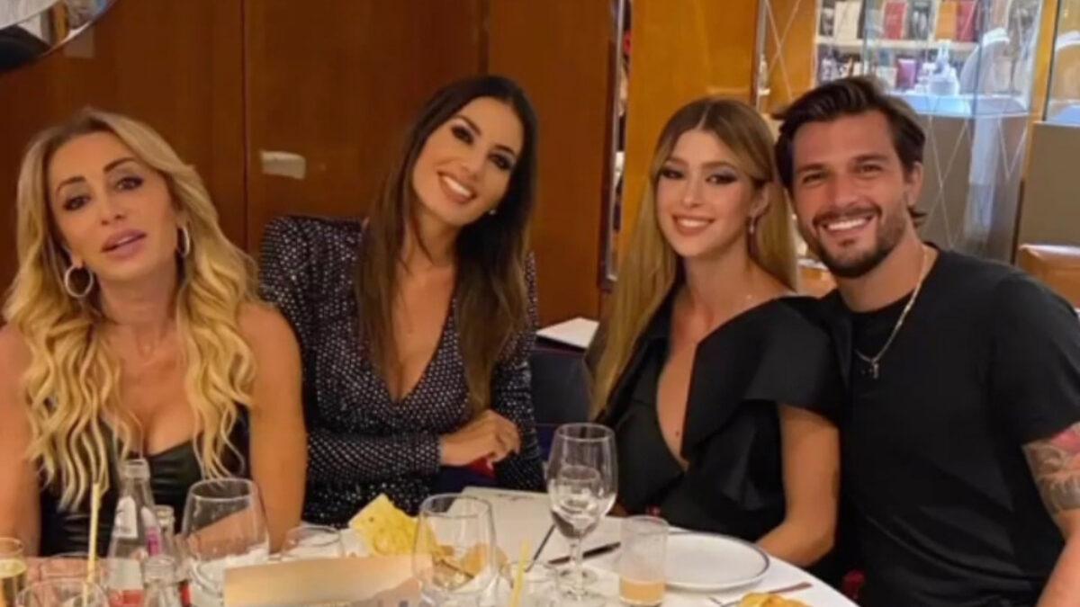 Andrea Zelletta e Natalia Paragoni: ospiti di Elisabetta Gregoraci