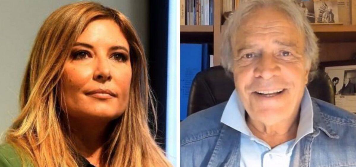 Selvaggia Lucarelli: il duro scontro con Enrico Montesano