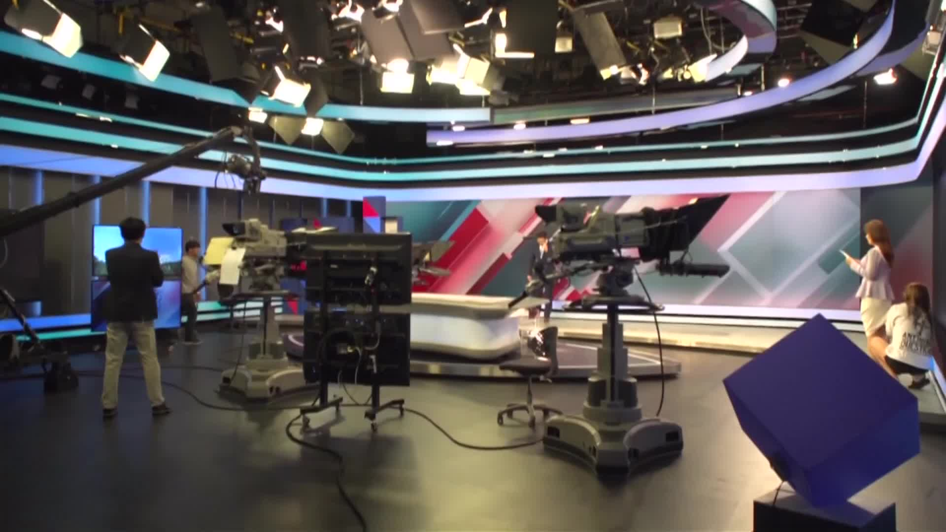 television-studio-free-video