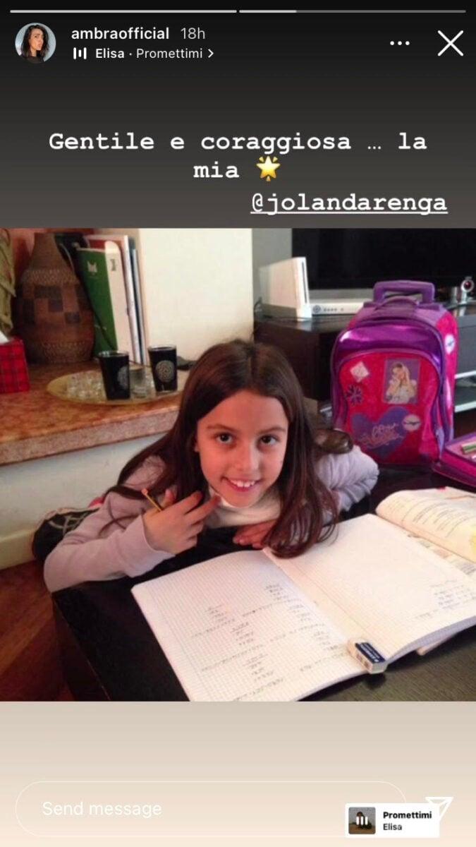 19:00 & # 8211;  Stefania Orlando: Ambra Angiolini's comment on the tapir