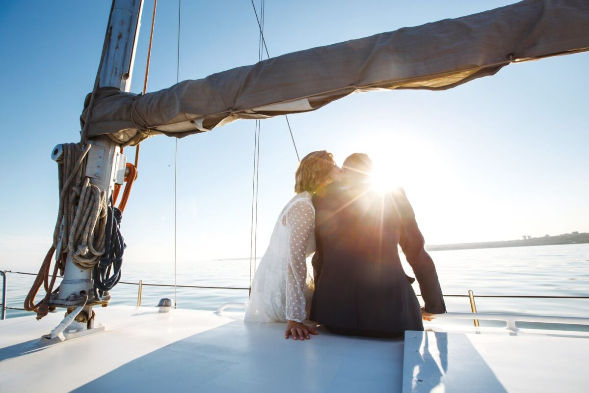 Matrimonio in barca: vantaggi e svantaggi